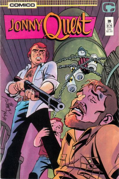 Cover for Jonny Quest (Comico, 1986 series) #20