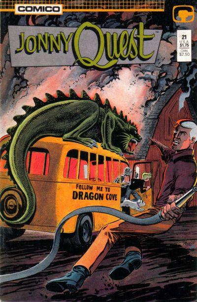 Cover for Jonny Quest (Comico, 1986 series) #21