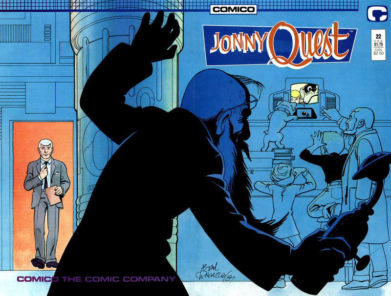 Cover for Jonny Quest (Comico, 1986 series) #22