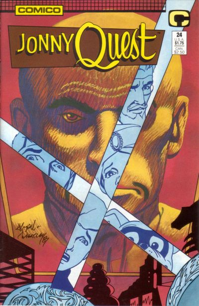 Cover for Jonny Quest (Comico, 1986 series) #24