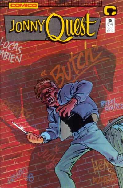 Cover for Jonny Quest (Comico, 1986 series) #25