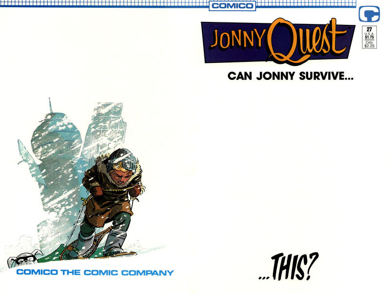 Cover for Jonny Quest (Comico, 1986 series) #27