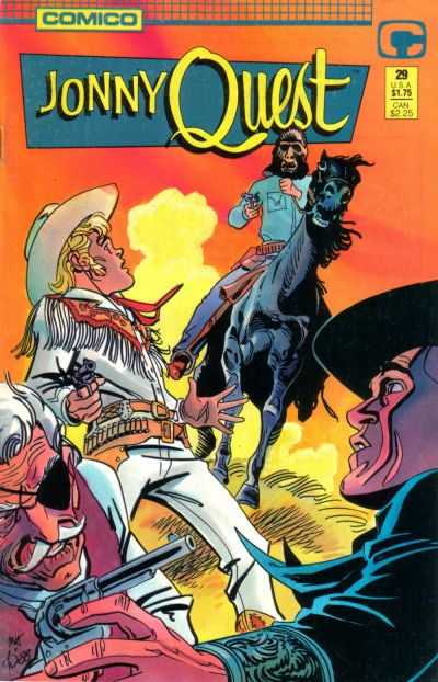 Cover for Jonny Quest (Comico, 1986 series) #29
