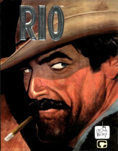Cover for Rio (Comico, 1987 series)