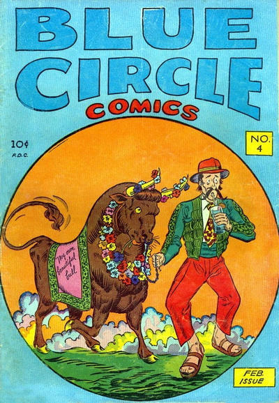 Cover for Blue Circle Comics (Rural Home, 1944 series) #v2#1 (4)