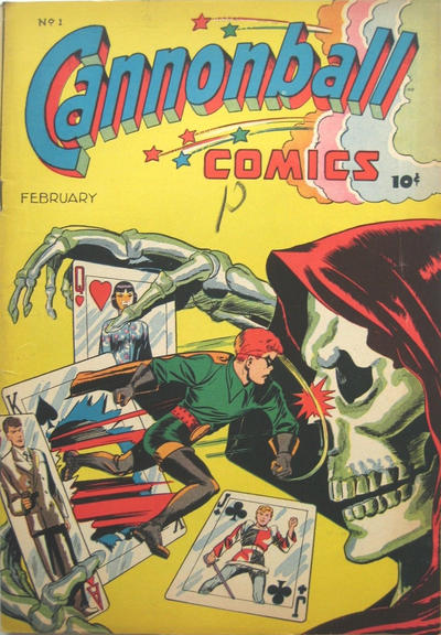 Cover for Cannonball Comics (Rural Home, 1945 series) #1