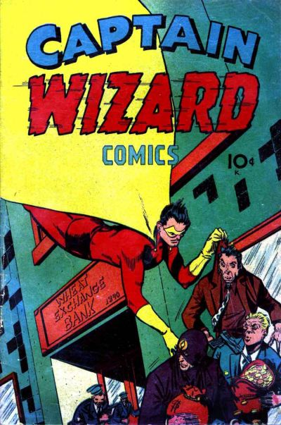 Cover for Captain Wizard Comics (Croydon Publishing Co., 1946 series) #1