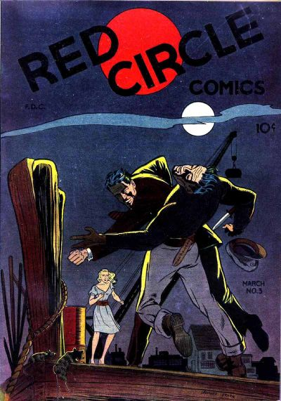 Cover for Red Circle Comics (Rural Home, 1945 series) #3
