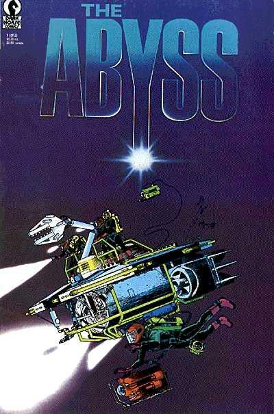 Cover for The Abyss (Dark Horse, 1989 series) #1