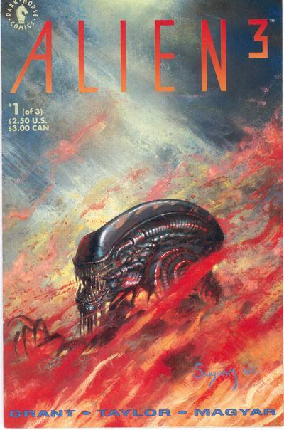 Cover for Alien 3 [Alien³] (Dark Horse, 1992 series) #1