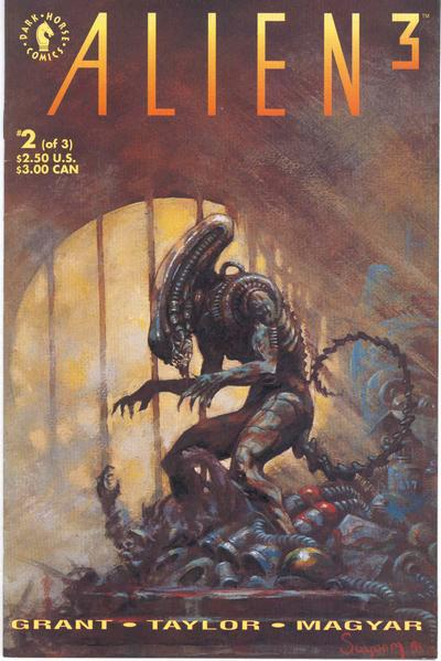 Cover for Alien 3 [Alien³] (Dark Horse, 1992 series) #2
