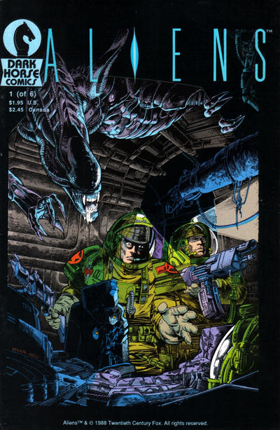 Cover for Aliens (Dark Horse, 1988 series) #1
