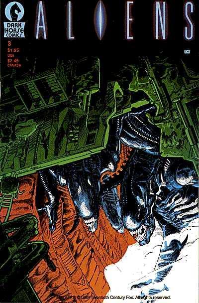 Cover for Aliens (Dark Horse, 1988 series) #3