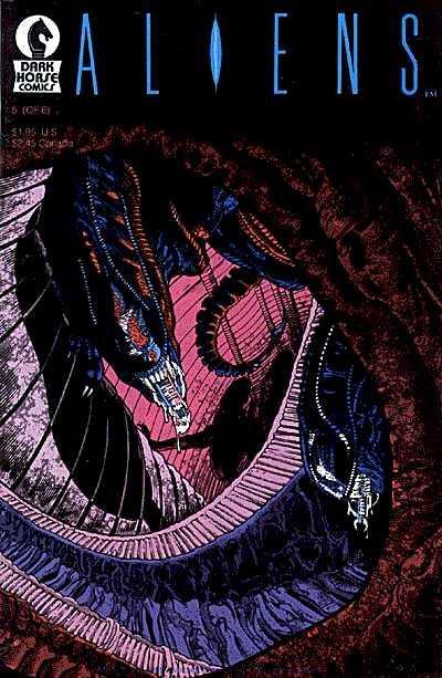 Cover for Aliens (Dark Horse, 1988 series) #5