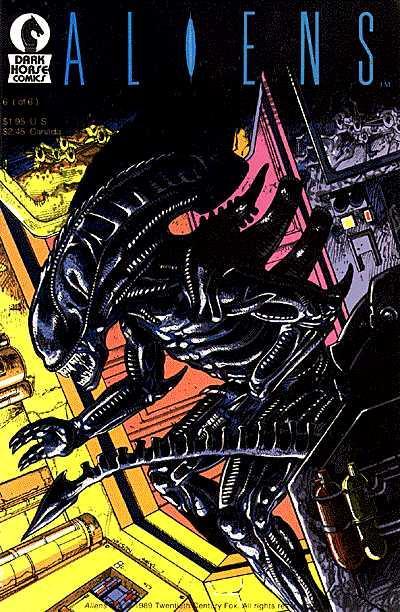 Cover for Aliens (Dark Horse, 1988 series) #6