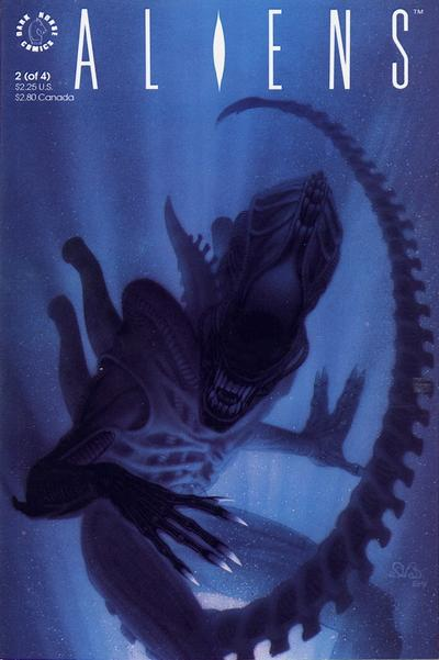 Cover for Aliens (Dark Horse, 1989 series) #2