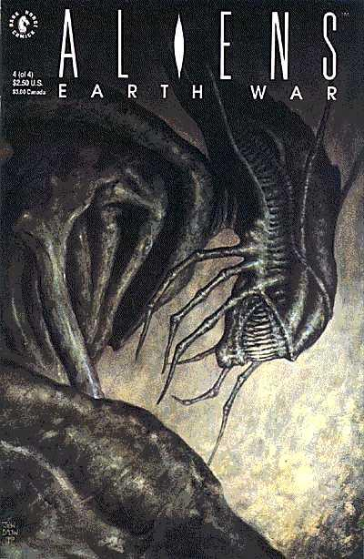 Cover for Aliens: Earth War (Dark Horse, 1990 series) #4