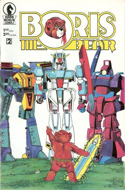 Cover for Boris the Bear (Dark Horse, 1986 series) #2