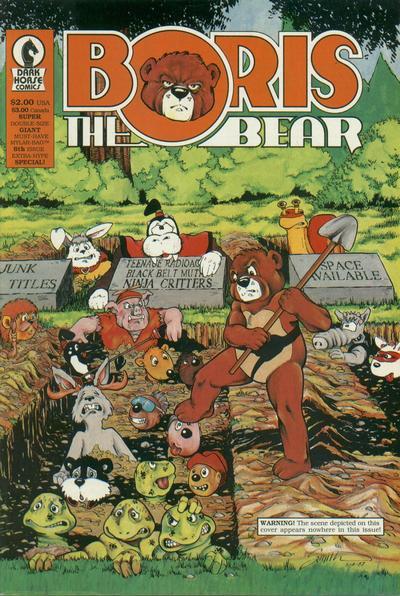 Cover for Boris the Bear (Dark Horse, 1986 series) #8