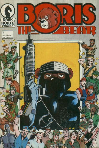 Cover for Boris the Bear (Dark Horse, 1986 series) #9