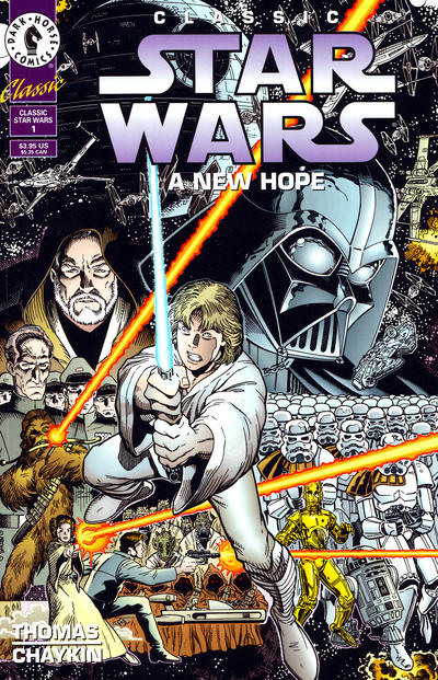 Cover for Classic Star Wars: A New Hope (Dark Horse, 1994 series) #1