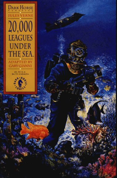 Cover for Dark Horse Classics: 20,000 Leagues Under the Sea (Dark Horse, 1992 series) #1