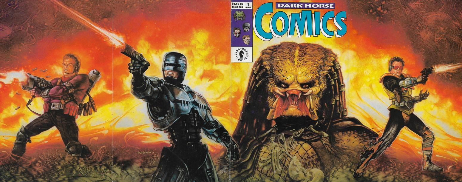 Cover for Dark Horse Comics (Dark Horse, 1992 series) #1