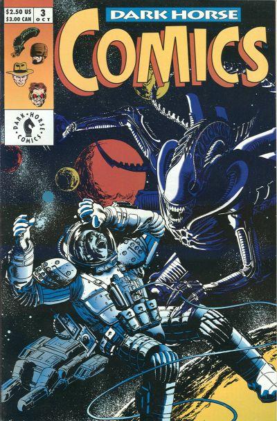 Cover for Dark Horse Comics (Dark Horse, 1992 series) #3