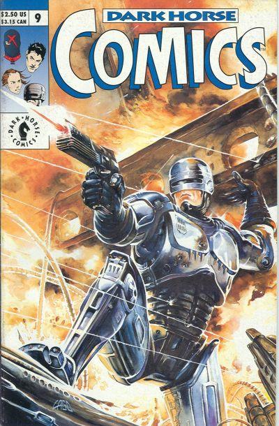 Cover for Dark Horse Comics (Dark Horse, 1992 series) #9