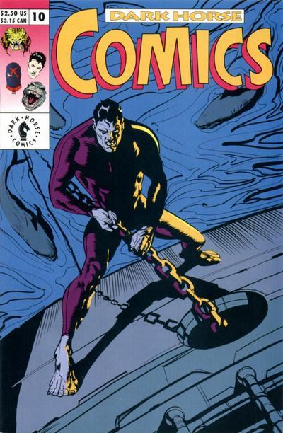 Cover for Dark Horse Comics (Dark Horse, 1992 series) #10