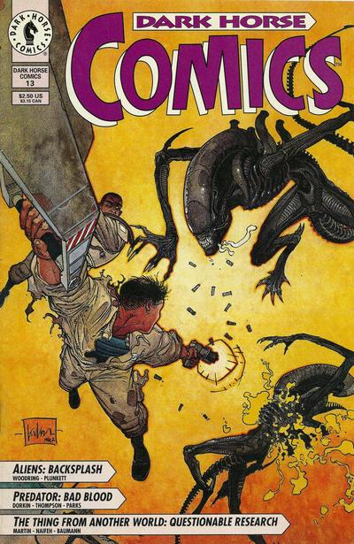 Cover for Dark Horse Comics (Dark Horse, 1992 series) #13