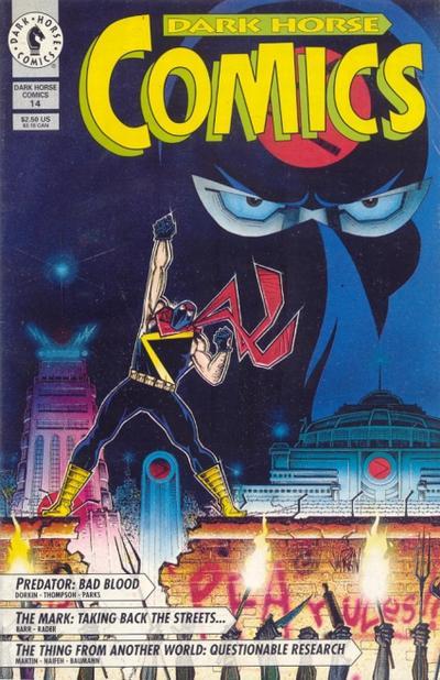 Cover for Dark Horse Comics (Dark Horse, 1992 series) #14