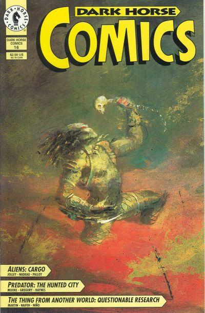 Cover for Dark Horse Comics (Dark Horse, 1992 series) #16