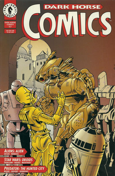 Cover for Dark Horse Comics (Dark Horse, 1992 series) #17
