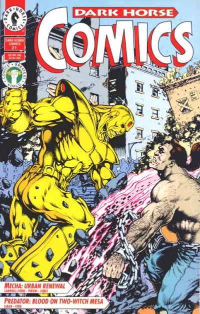 Cover for Dark Horse Comics (Dark Horse, 1992 series) #21