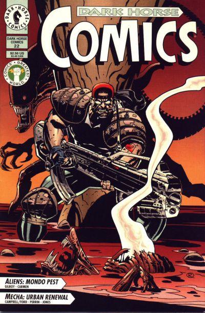 Cover for Dark Horse Comics (Dark Horse, 1992 series) #22