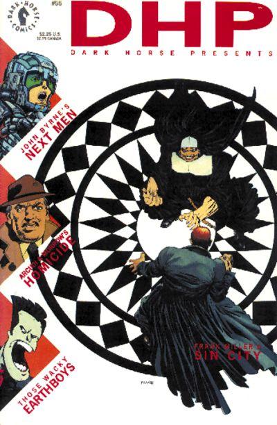 Cover for Dark Horse Presents (Dark Horse, 1986 series) #55