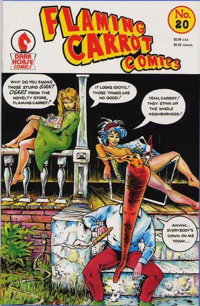 Cover for Flaming Carrot Comics (Dark Horse, 1988 series) #20