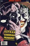 Cover for Inferno album (Bladkompaniet / Schibsted, 1997 series) #10 - Batman; Sandman; Transmetro