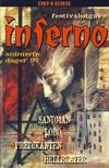 Cover for Inferno album (Bladkompaniet / Schibsted, 1997 series) #1 - Sandman; Hellblazer; Lobo; Predikanten  [Festivalutgave]