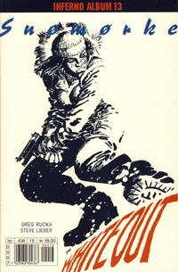 Cover Thumbnail for Inferno album (Bladkompaniet / Schibsted, 1997 series) #13 - Whiteout: Snømørke