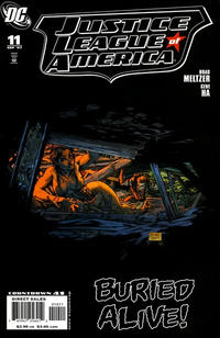 Cover for Justice League of America (DC, 2006 series) #11 [Standard Cover]