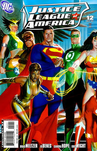 Cover Thumbnail for Justice League of America (DC, 2006 series) #12 [Direct Sales - Left Side of Cover]