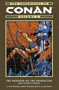Cover Thumbnail for The Chronicles of Conan (Dark Horse, 2003 series) #3 - The Monster of the Monoliths and Other Stories