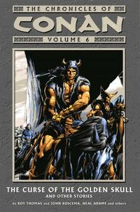 Cover Thumbnail for The Chronicles of Conan (Dark Horse, 2003 series) #6 - The Curse of the Golden Skull and Other Stories