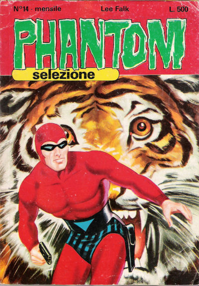 Cover for Phantom Selezione (Edizioni Fratelli Spada, 1976 series) #14