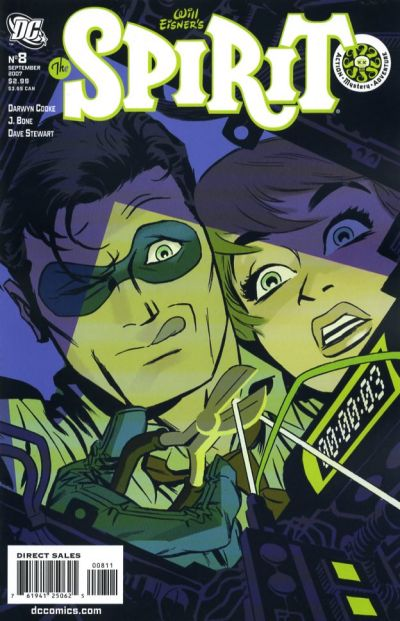 Cover for The Spirit (DC, 2007 series) #8