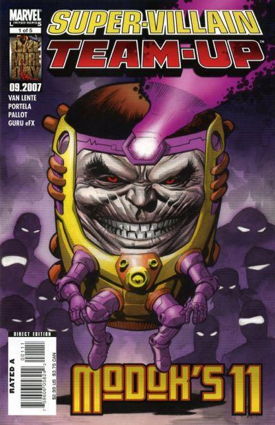 Cover for Super-Villain Team-Up / Modok's 11 (Marvel, 2007 series) #1