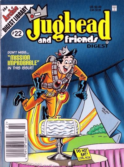 Cover for Jughead & Friends Digest Magazine (Archie, 2005 series) #22 [Direct]