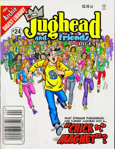 Cover for Jughead & Friends Digest Magazine (Archie, 2005 series) #24 [Direct]